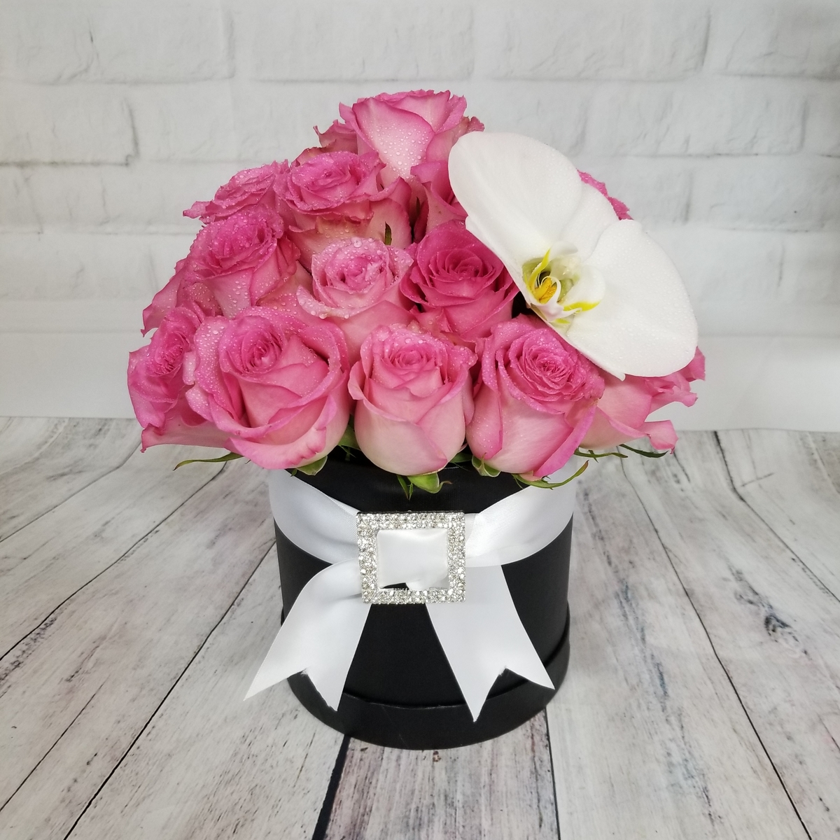 Voted best florist and flower shop in las vegas by readers of las parisian fleur box collection black box w pink roses izmirmasajfo