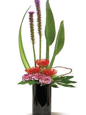 Zen Flower Arrangement Flower Store San Diego