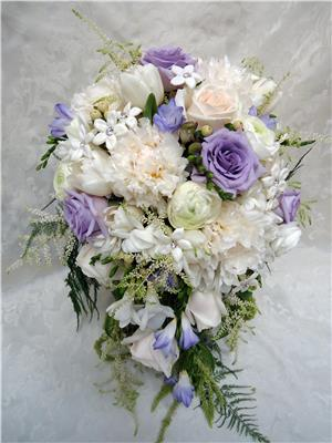 White Bridal Flowers Wedding Florists San Diego